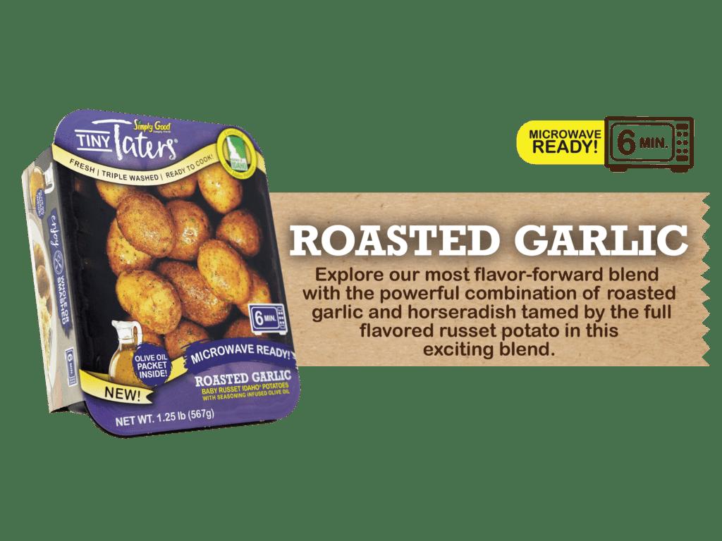 Eagle Eye Produce Tiny Taters Roasted Garlic Flavor